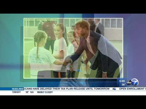 Prince Harry helps kick off Obama Summit