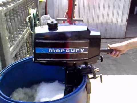 mercury 4 hp outboard motor 1979r 2 stroke dwusuw youtube