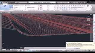 AutoCAD 3D Civil (рельеф)