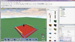 ROBLOX Tutorials - How to make a model on ROBLOX 2010