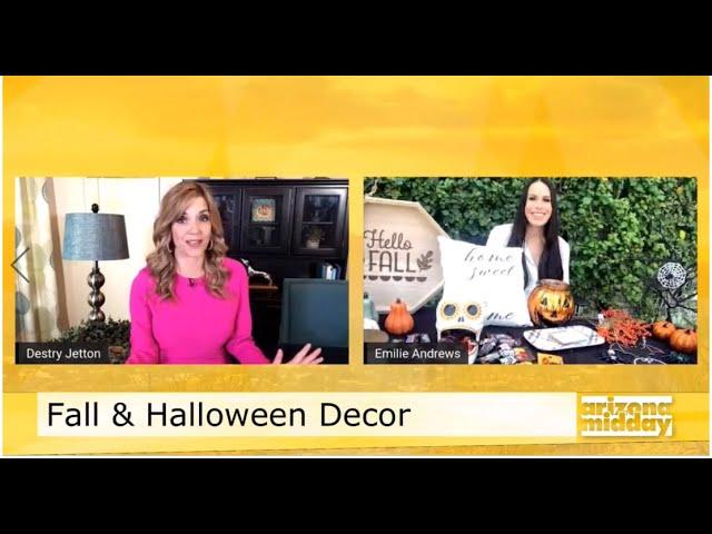 Fall & Halloween Décor