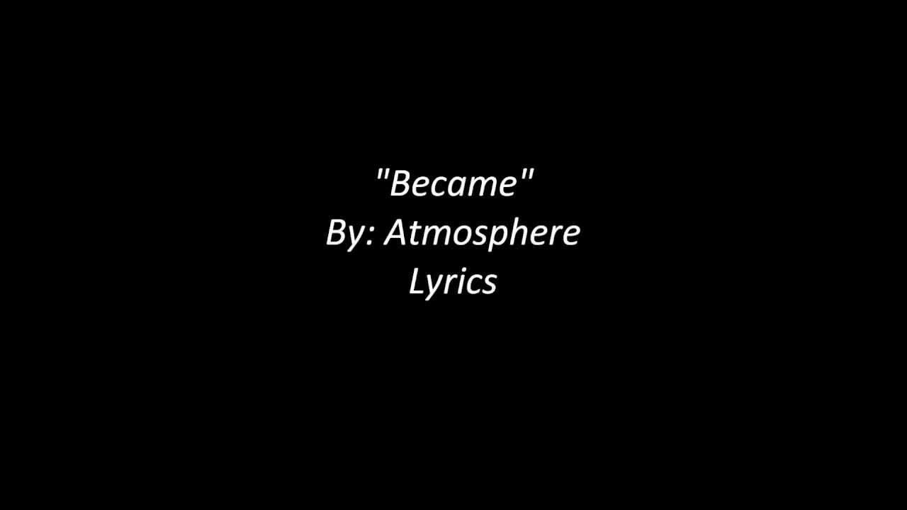 atmosphere%20lyrics - DriverLayer Search Engine