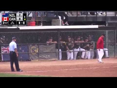 2015 ISF WBSC Men's Softball World Championship Gold Medal Game: Canada vs New Zealand