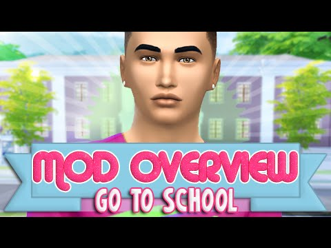 Download the sims 4 go to school mod