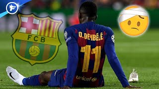 La nouvelle blessure d'Ousmane Dembélé effraie le FC Barcelone | Revue de presse
