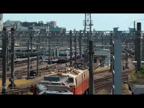 [HD] The Taiwan TRA up Local Train No. 1020 EMU 1200 depart the Changhua Station
