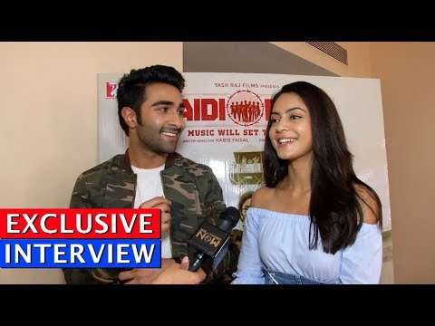Ranbir Kapoor's Brother Aadar Jain And Anya Singh Fun Interview For Qaidi Band Exclusive