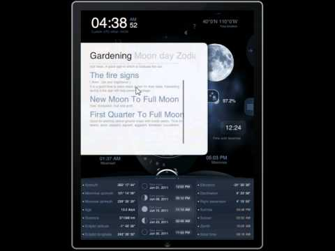 Deluxe Moon HD for iPad with Solar and Lunar Eclipses: Learn How Moon Phases Influence Your Life