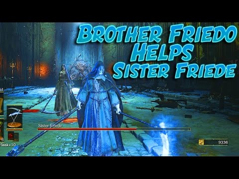 Dark Souls 3: Invading Sister Friede's Boss Fight - The Adventures Of Brother Friedo