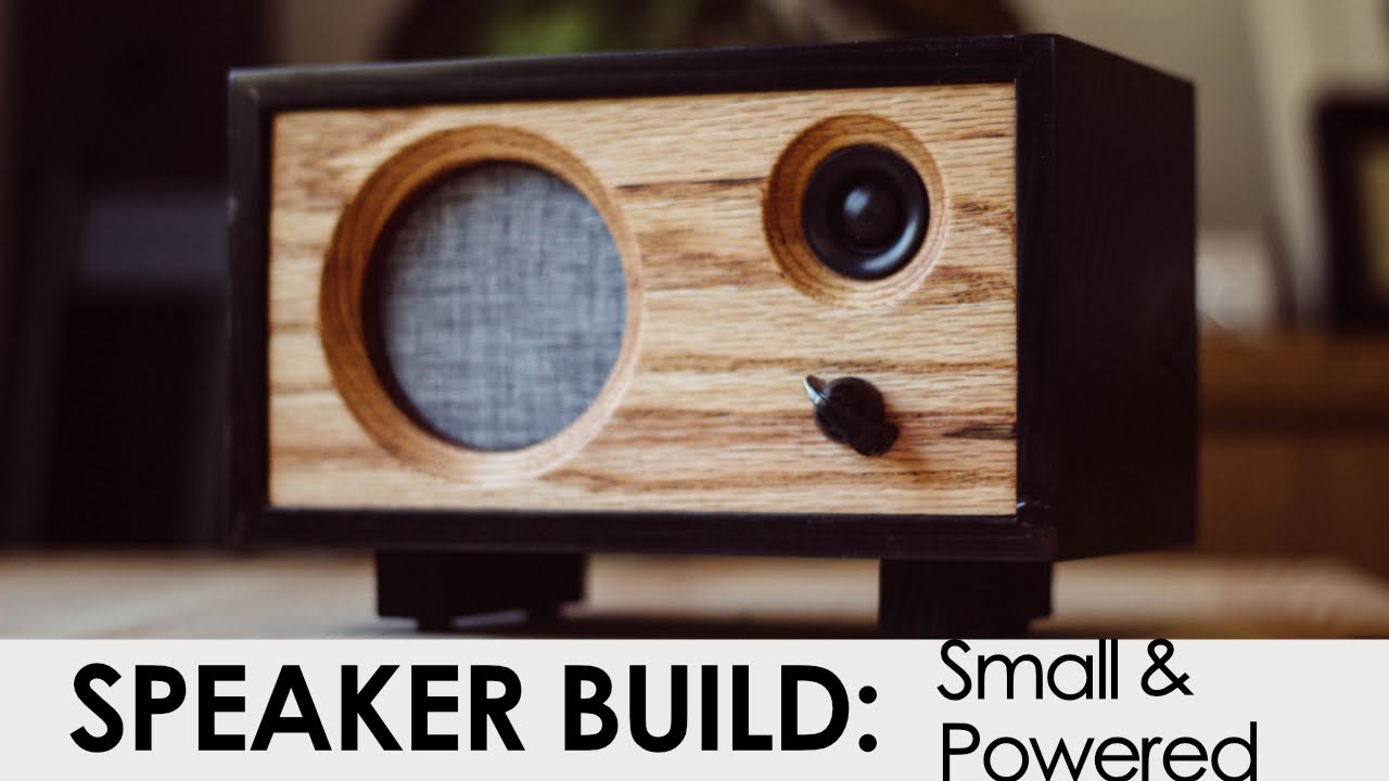 build an inexpensive powered speaker make
