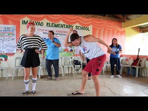 I Did The Chicken Dance at a School Near The Mountains (Brigada Eskwela)