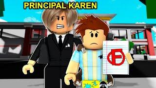 Karen Became Brookhaven Principal.. (Roblox)