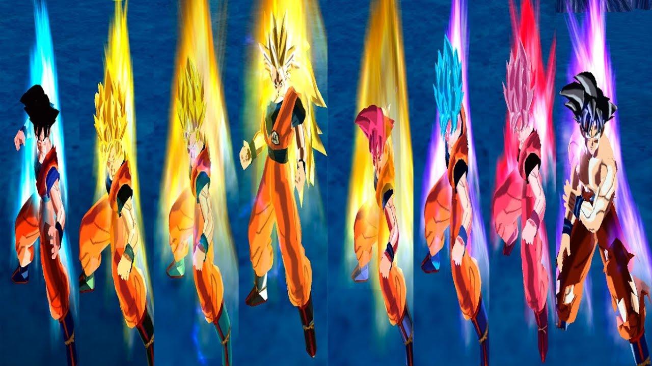 Descarga dbz ttt todas las fases de goku torneo del for Todas las descargas