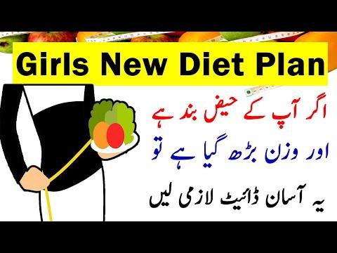 Girl's New Diet Plan – Wazan Fori Kam Karen –  Diet Plan to Lose Weight Fast