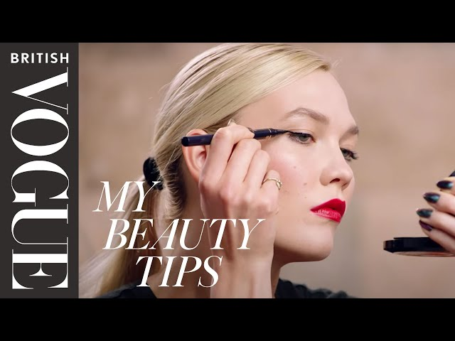 Karlie Kloss's Red Carpet Make-up Tutorial | British Vogue