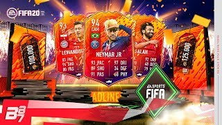 100K FIFA POINTS ON HEADLINER PACKS! HEADLINERS PACK OPENING! | FIFA 20 ULTIMATE TEAM