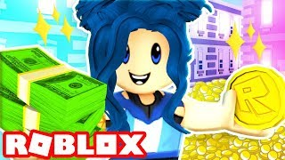 I'M RICH!! ROBLOX CASH GRAB SIMULATOR!