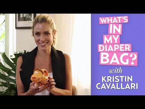 What's in My Diaper Bag With Kristin Cavallari