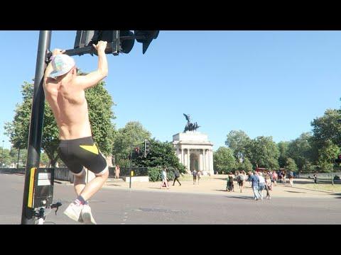 LONDON tourist day out - city workout -{vlog.46}-
