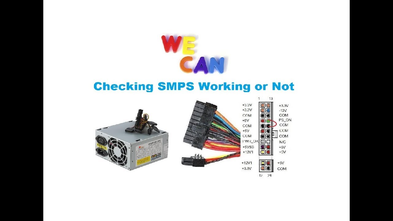 Checking SMPS Working or Not - YouTube