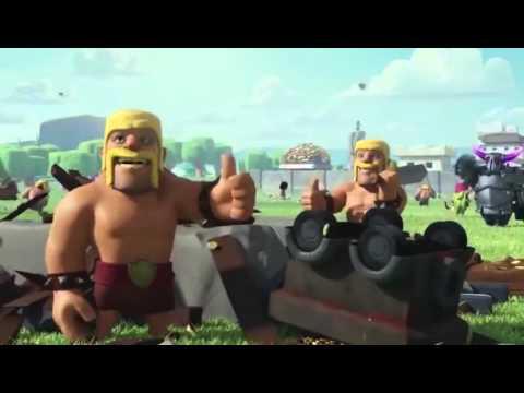 Clash Of Clans So Funny - Barbarian, Hog Rider, Larry Trailer
