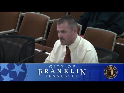 City of Franklin, Budget & Finance Committee Meeting March 8, 2018