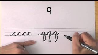 How To Write In Cursive // Lesson 17 // A Complete Course // Free Worksheets
