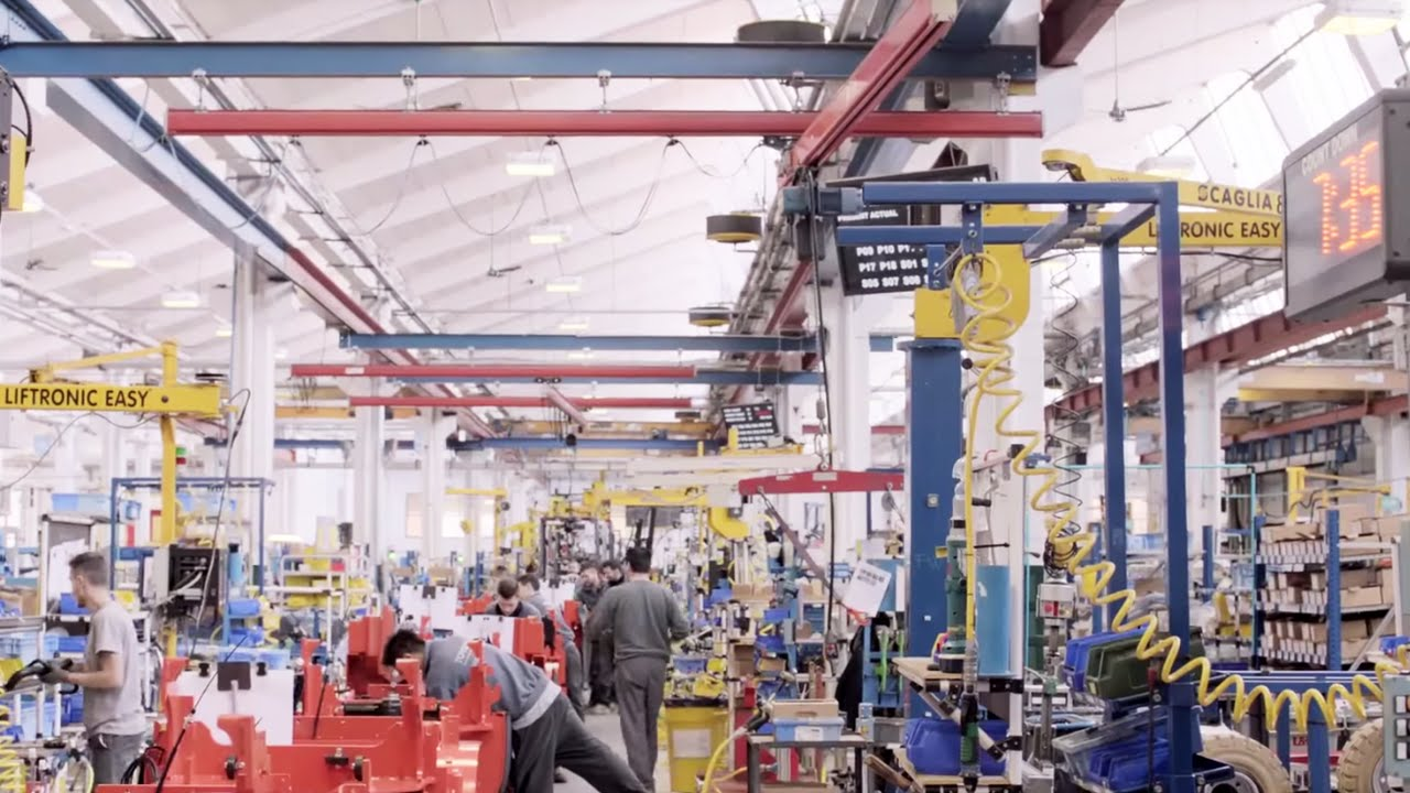 Toyota Material Handling   Production From Start To Finish   YouTube