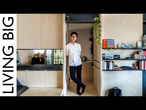 Architect鈥檚 Micro Studio Apartment
