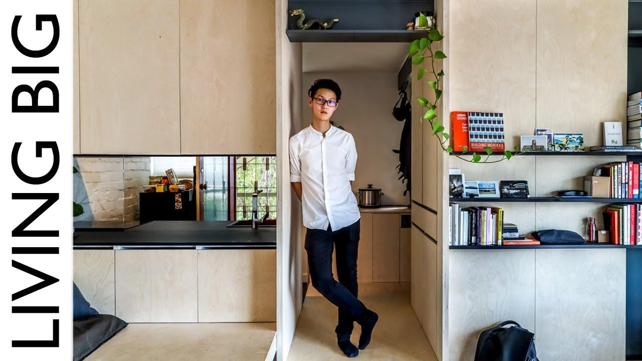 Architect S Micro Studio Apartment Youtube