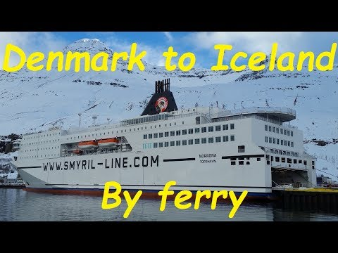 Smyril Line - Denmark to Iceland ferry trip on MS Norrona