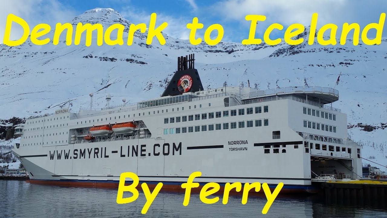 Denmark To Iceland Ferry Trip On Ms