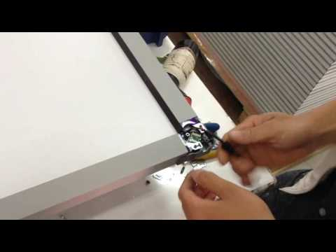 How to assemble infrared interactive whiteboard parts