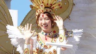 ASAHI Samba Team at Asakusa Samba Carnival 2018 超可愛いアサヒイメ...