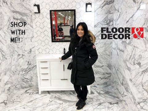 SHOP WITH ME || FLOOR & DECOR|| NEW FLOORING || TILE || AVON MA