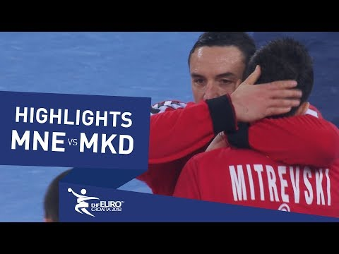 Highlights | Montenegro vs Fyr Macedonia | Men's EHF EURO 2018
