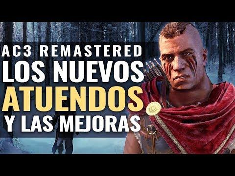 ASSASSIN'S CREED 3 REMASTERED | Los NUEVOS TRAJES (ATUENDOS) y MEJORAS thumbnail