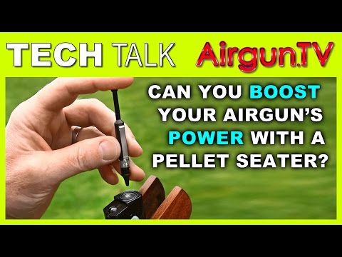 PELLET SEATING - boost performance of.177 &.22 air rifles?
