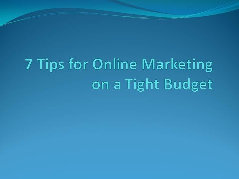 The Seven Online Marketing Tips for Small Business Owners