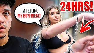 24 HOURS HANDCUFFED TO ALISSA VIOLET... [MUST WATCH]