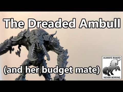 The Dreaded Ambull (& Cheap Alternative) Unboxing & Review (Blackstone Fortress)