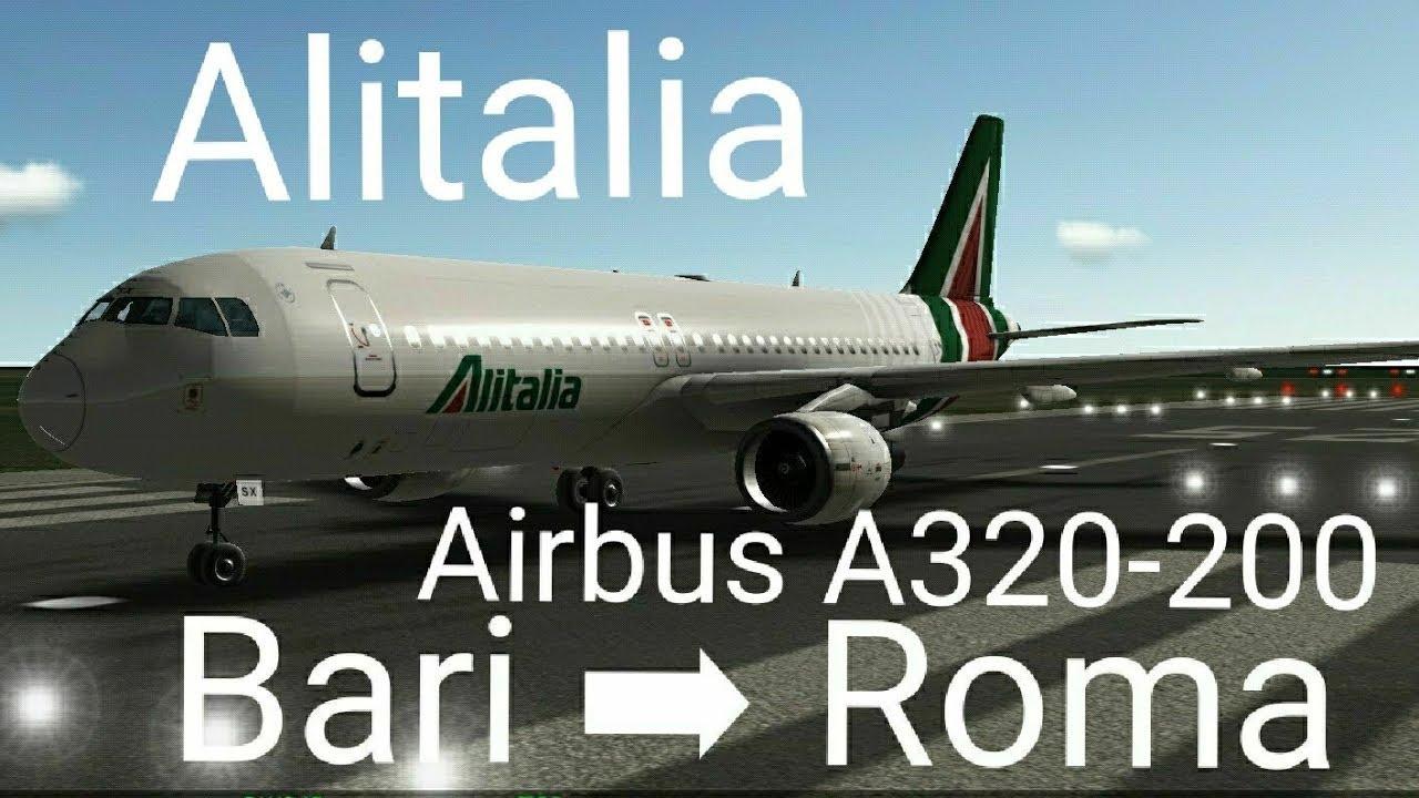 RFS] Bari - Roma I Alitalia I Airbus A320-200