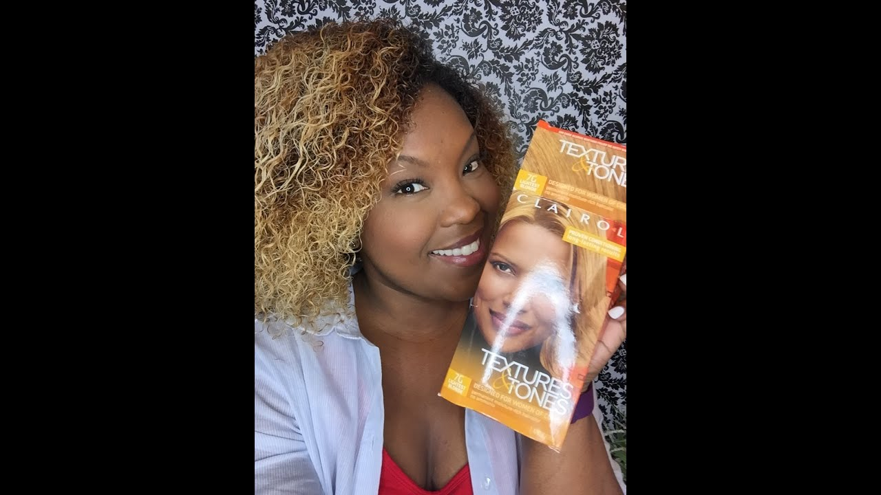 How I Color My Hair Clairol Textures And Tones Youtube