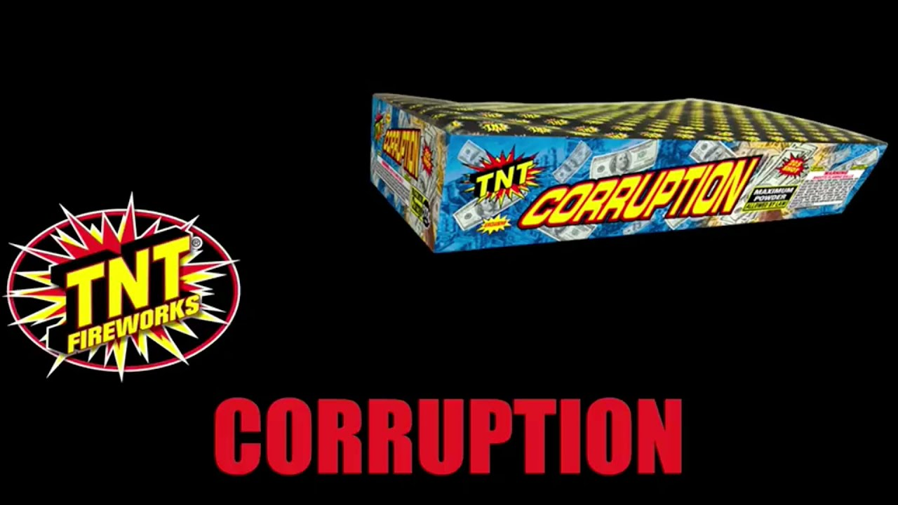 TNT Fireworks - Corruption 205 Shots