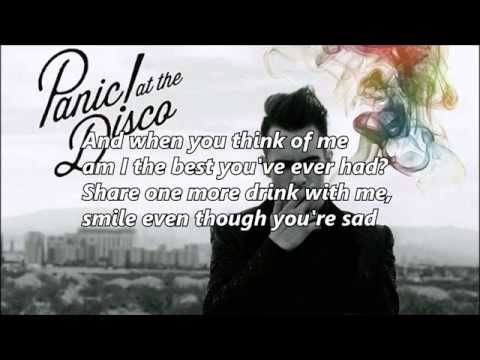 Panic! At The Disco - Death Of A Bachelor Song With Lyrics