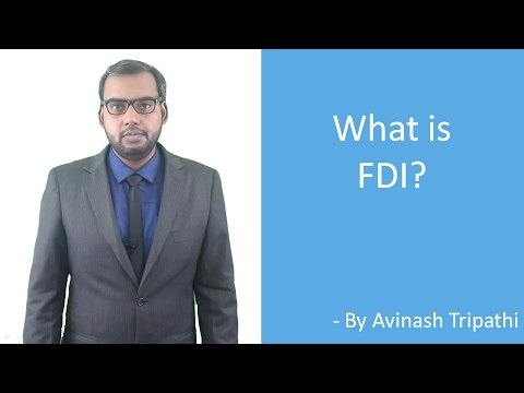 Lecture On What Is FDI?