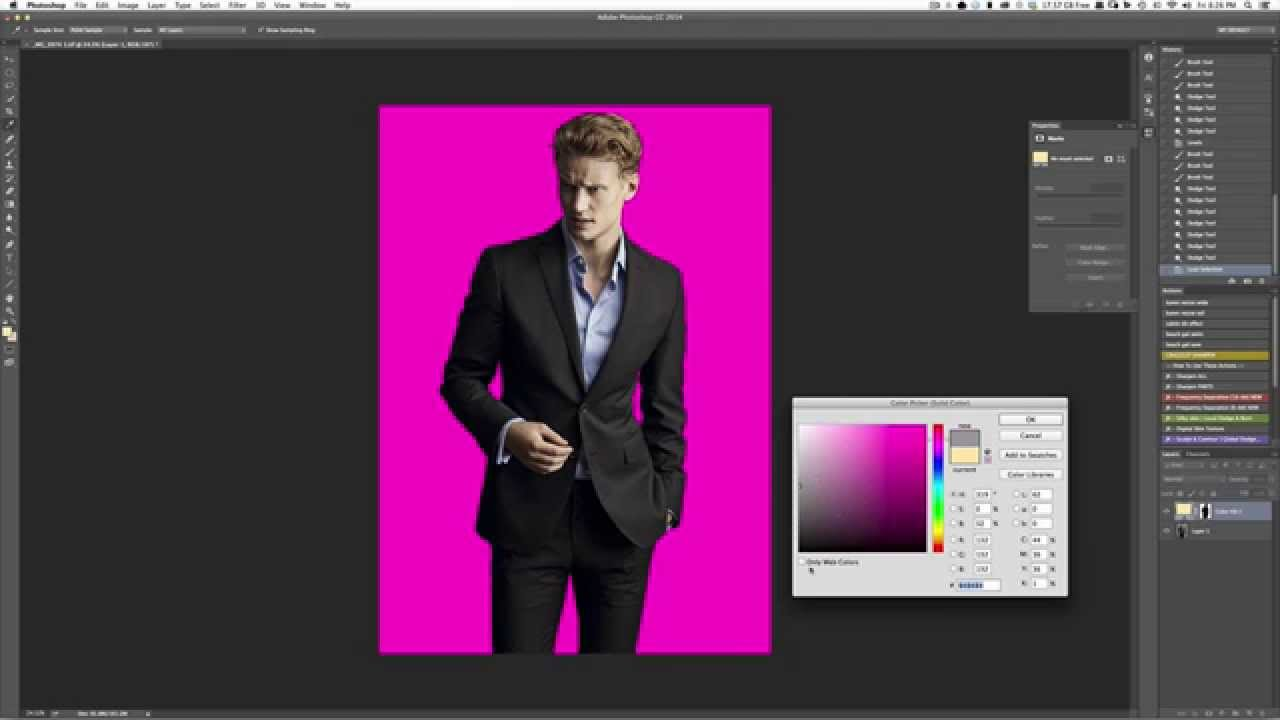 How to Clean Up or Replace the Background in Photoshop