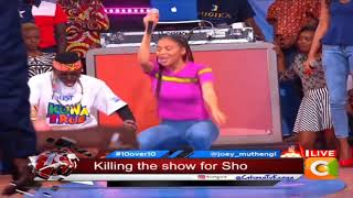 Wow moves....Try Sho Madjozi style #10Over10