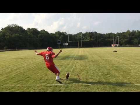 Luke Wilson, Kicking Video Part 2, Linton Stockton High School Class of 2017