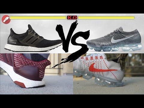 Adidas UltraBoost vs Nike Zoom Fly